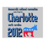 Charlotte 2012 postcards