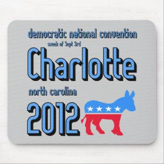 Charlotte 2012 alfombrilla de ratón