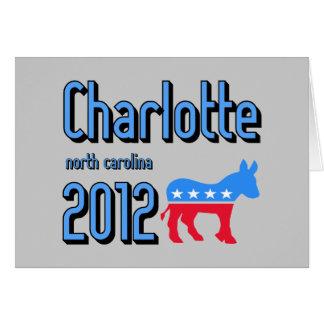 Charlotte 2012 tarjeta de felicitación