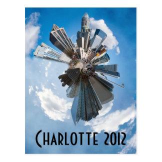 Charlotte 2012 tarjeta postal