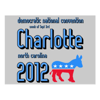 Charlotte 2012 tarjetas postales