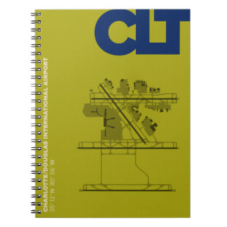 Charlotte Airport (CLT) Diagram Notebook