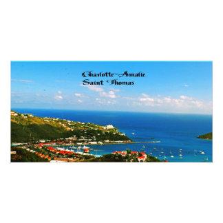 Charlotte-Amalie St. Thomas Photo Card