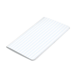 Charlotte azul y rayas blancas azul claro cuadernos