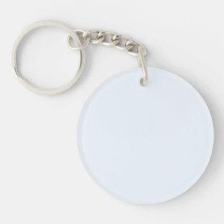Charlotte Blue - Baby Princess Blue Single-Sided Round Acrylic Keychain