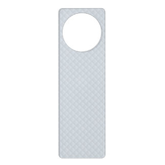 Charlotte Blue-Baby Princess Blue-Square Quilted Door Hanger
