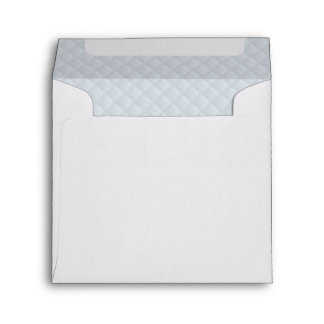 Charlotte Blue-Baby Princess Blue-Square Quilted Envelope