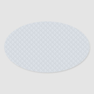 Charlotte Blue-Baby Princess Blue-Square Quilted Oval Sticker