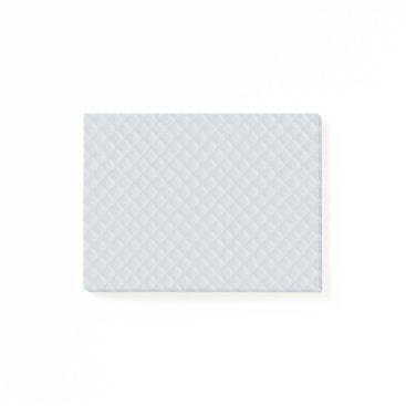 Beach Themed Charlotte Blue-Baby Princess Blue-Square Quilted Post-it Notes