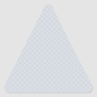 Charlotte Blue-Baby Princess Blue-Square Quilted Triangle Sticker