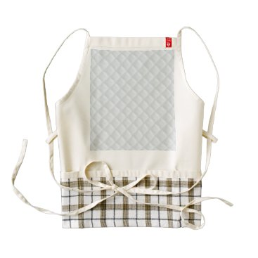 Beach Themed Charlotte Blue-Baby Princess Blue-Square Quilted Zazzle HEART Apron