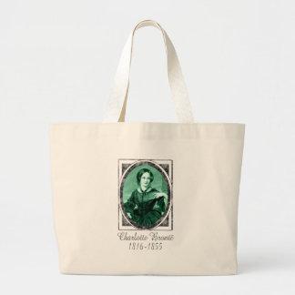 Charlotte Brontë Bolsa Tela Grande