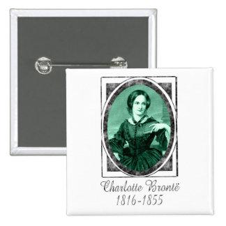 Charlotte Brontë Button
