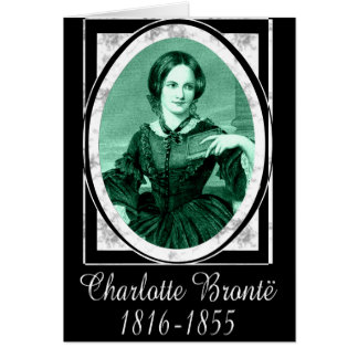 Charlotte Brontë Greeting Card