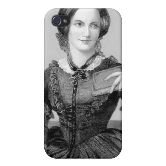 Charlotte Bronte Cover For iPhone 4