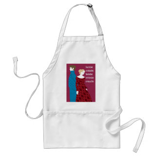 "Charlotte Bronte ""Jane Eyre"" gift with quote Adult Apron"