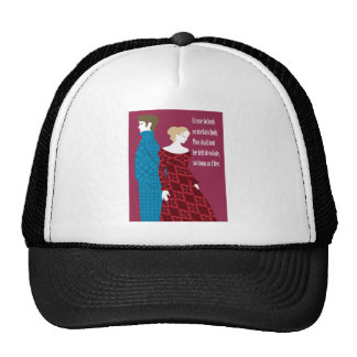 "Charlotte Bronte ""Jane Eyre"" gift with quote Trucker Hat"