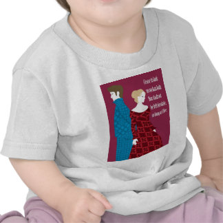 """Charlotte Bronte """"Jane Eyre"""" gift with quote Tee Shirts"""