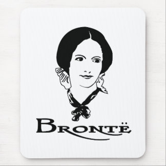 Charlotte Bronte Mouse Pad