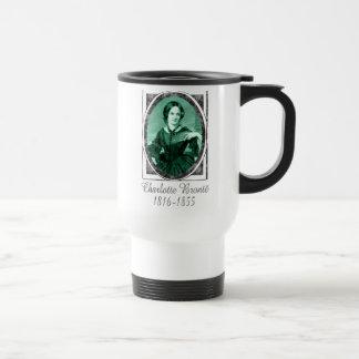 Charlotte Brontë 15 Oz Stainless Steel Travel Mug