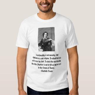 Charlotte Bronte on dissent Tshirts