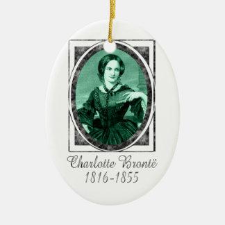 Charlotte Brontë Christmas Ornaments