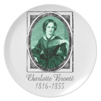 Charlotte Brontë Dinner Plate