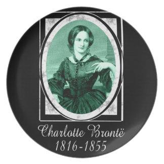 Charlotte Brontë Party Plates