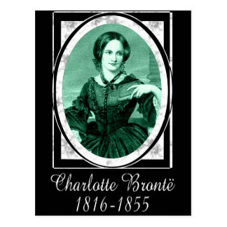 Charlotte Brontë Post Card