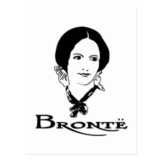 Charlotte Bronte Postcard