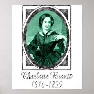 Charlotte Brontë Print