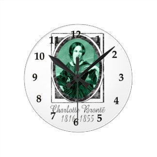 Charlotte Brontë Relojes De Pared