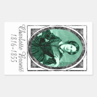 Charlotte Brontë Rectangle Sticker