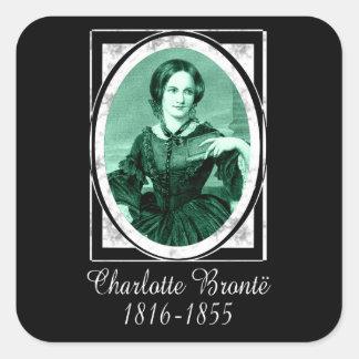 Charlotte Brontë Square Sticker