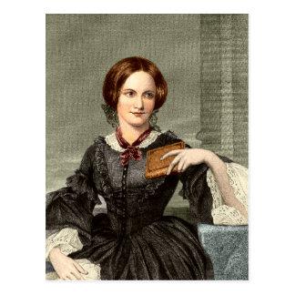 Charlotte Brontë Tarjeta Postal