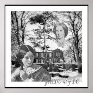 Charlotte Bronte tiene su ojo en Jane Eyre Póster