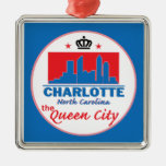Charlotte Carolina del Norte Ornaments Para Arbol De Navidad