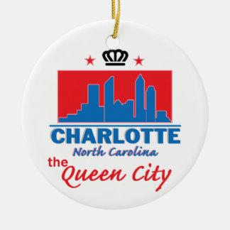 Charlotte Carolina del Norte Ornamente De Reyes