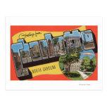 Charlotte, Carolina del Norte - escenas grandes de Postal