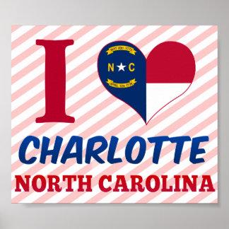 Charlotte, Carolina del Norte Posters