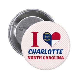 Charlotte, Carolina del Norte Pins