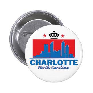 Charlotte Carolina del Norte Pin