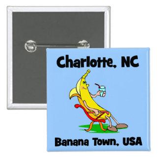 Charlotte Carolina del Norte Pins