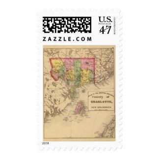 Charlotte Co, NB Stamp