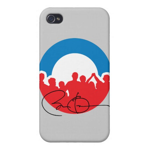 CHARLOTTE CON BARACK OBAMA - .PNG iPhone 4 PROTECTOR