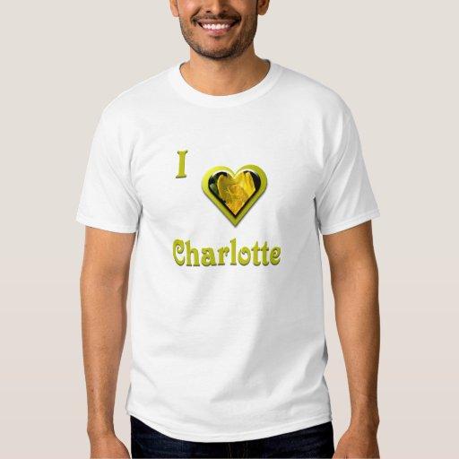 Charlotte -- con la flor amarilla camisas