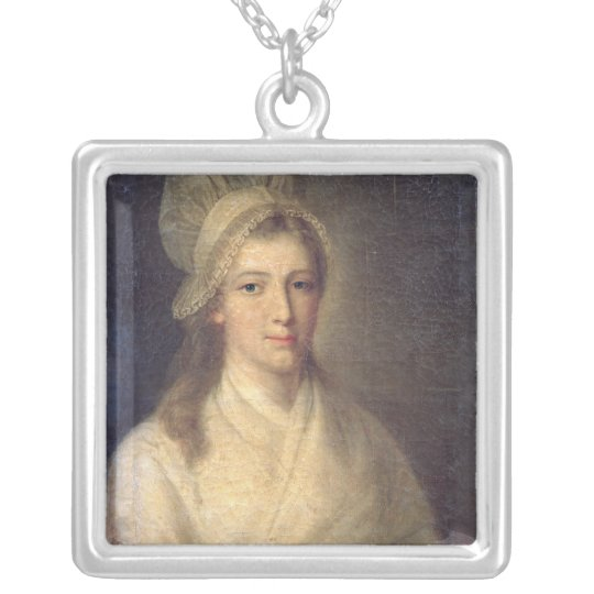 Charlotte Corday Silver Plated Necklace