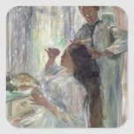 Charlotte Corinth At Her Dressing Table, 1911 Square Sticker