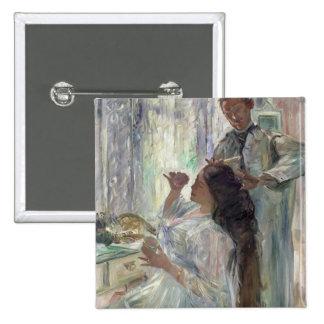 Charlotte Corinto en su tocador, 1911 Pin Cuadrada 5 Cm