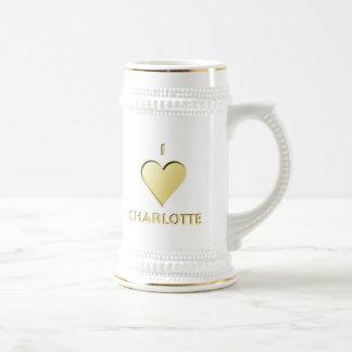 Charlotte -- Cream Beer Stein
